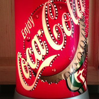 Retro Coca-Cola Collectible Motion Lamp