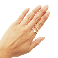 Love Letter Cuff Ring