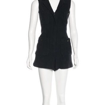 Fitted Terry Romper