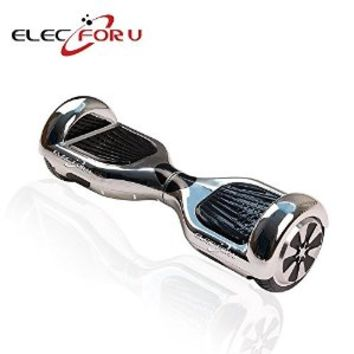 Elecforu Two Wheels Balance Electric Self Smart Balancing Scooters Drifting Skateboard with LED Light for Cool Outdoor Sports for Kids,Adults,Family