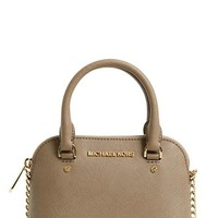 MICHAEL Michael Kors 'Extra Small Cindy' Leather Crossbody Bag | Nordstrom