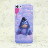 330F Eeyore Donkey Cute Pooh Cartoon Hard Transparent Case Cover for iPhone 7 7 Plus 4 4s 5 5s 5c SE 6 6s Plus