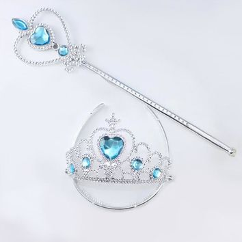 Princess Costume - Princess Crown and Scepter Set - 👗💘👑🎃👠