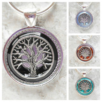 tree of life keychain: set of 5 - wedding party - groomsmen gift - celtic wedding - mens keychain - wiccan wedding - wedding favors