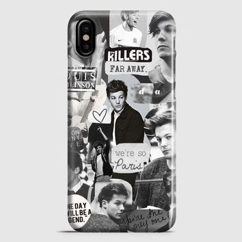Louis Tomlinson Collage iPhone X Case