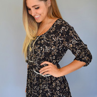 Through the Leaves Babydoll Top