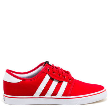 The Seeley Sneaker in Scarlet Red