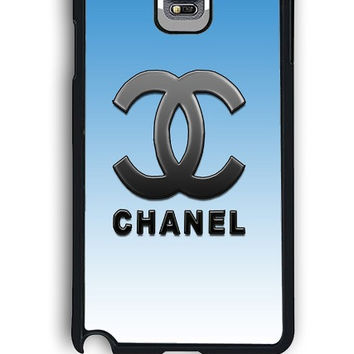 Samsung Galaxy Note 4 Case - Rubber (TPU) Cover with Chanel Versi 2 Design