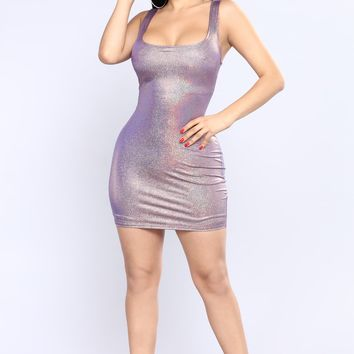 New Flame Dress - Pink