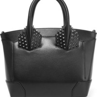 Christian Louboutin - Eloise small spiked textured-leather tote
