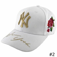 MLB NY Yankees 2018 new street fashion men and women caps baseball cap #2