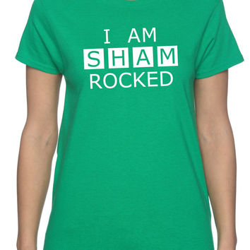 Sherlock St. Paddy's Day Ladies T-Shirt