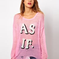 Wildfox | Wildfox As If Jumper at ASOS