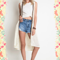 Lovely Lace Duster