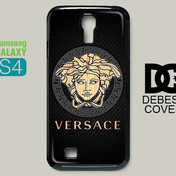 Versace Wood Carbonate Samsung Galaxy S4 i9500 Case