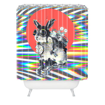 Ali Gulec Time Traveler Shower Curtain