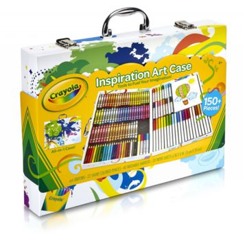Crayola Inspiration Art Case: Art Tools, 140 Pieces, Crayons, Colored Pencils, W
