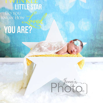 PJ's Star Newborn Toddler Photography Prop