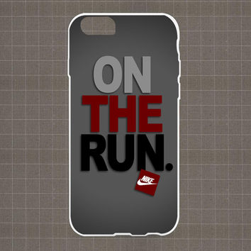 Nike On The Run iPhone 4/4S, 5/5S, 5C Series Hard Plastic Case