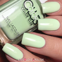 Color Club Till The Record Stops Nail Polish (Poptastic Pastel Neon Collection)