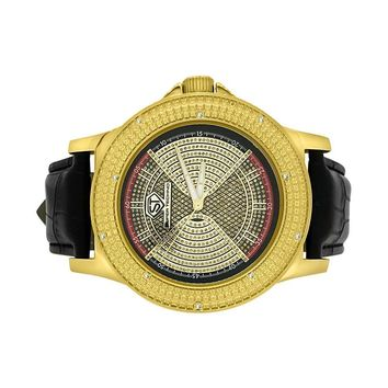 Sports Style Diamond Hip Hop Watch Super Techno