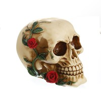 Skull Skulls Halloween Fall Resin Craft Statues For Decoration  Creative  Statue Sculpture Home Decoration Accessories Halloween Decoration Calavera