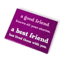 Best Friend Plaque  | Claire's
