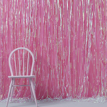 Iridescent Backdrop | Iridescent Party Decoration | Shimmer Curtain Decoration | Rainbow Party | Beautiful Shimmer Backdrop | Birthday Party