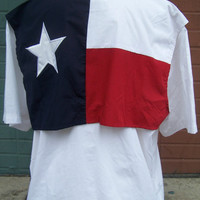 Custom Monogrammed Texas Flag Fishing Shirt