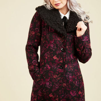 Jack by BB Dakota Hone in on Haute Coat | Mod Retro Vintage Coats | ModCloth.com