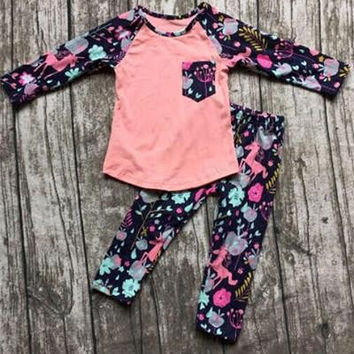 Girls Unicorn Boutique Set