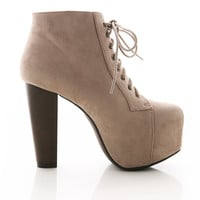 Haught Platform Booties   Trendy Shoes at Pink Ice