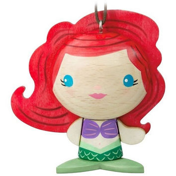 The Little Mermaid Ariel Wood Ornament