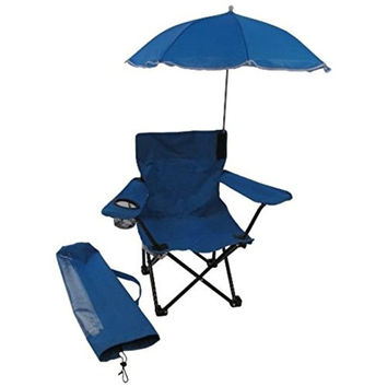 Redmon For Kids Beach Baby Kids Umbrella Camp Chair Blue