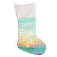 "Alison Coxon ""You Are My Sunshine"" Christmas Stocking"