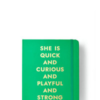 Kate Spade 2016 17-Month Medium Agenda- Quick And Curious Green ONE