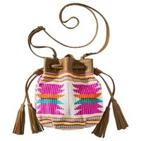 Mossimo Supply Co. Mini Bucket Handbag - Multicolored