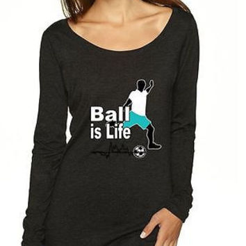Soccer Ball Is Life Women's Long Sleeve Shirt
