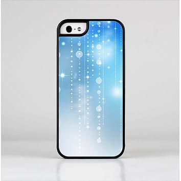 The Translucent Blue & White Jewels Skin-Sert Case for the Apple iPhone 5/5s