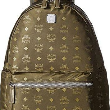MCM Men's Dieter Monogram Nylon Backpack  Fashion bags