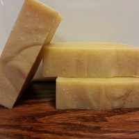 Tangerine Soap 100% All Natural with No Parabens, Sulfates or Perfumes