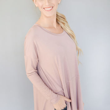 West End Ave. Tunic Rose
