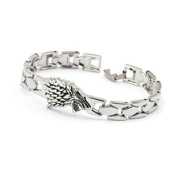 **FREE** Game of Thrones House of Stark's silver bracelet