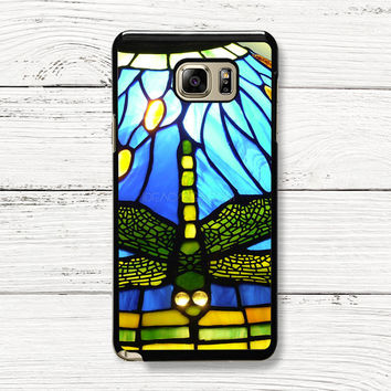Tiffany Dragonfly Style Stained Glass Samsung Galaxy Case, iPhone 4s 5s 5c 6s Cases, iPod Touch 4 5 6 case, HTC One case, Sony Xperia case, LG case, Nexus case, iPad case, Cases