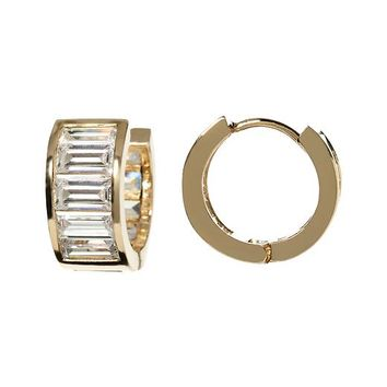 Banana Republic Huggie Earring Size One Size - Gold