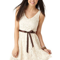 dELiAs > Lace Belted Dress > dresses > view all dresses