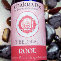 "Root Chakra Spray ""I Belong"" Helps Feel Grounded, Safe, Secure, Connected to Mother Earth, and able to Manifest & Keep Money In Your Life"