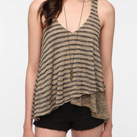 Sparkle & Fade Double Layer Sweater Knit Tank