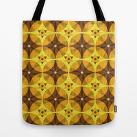 Art Deco Wood Grain Tote Bag by Raven Jumpo