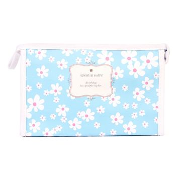 Daisy Floral Cosmetic Bag